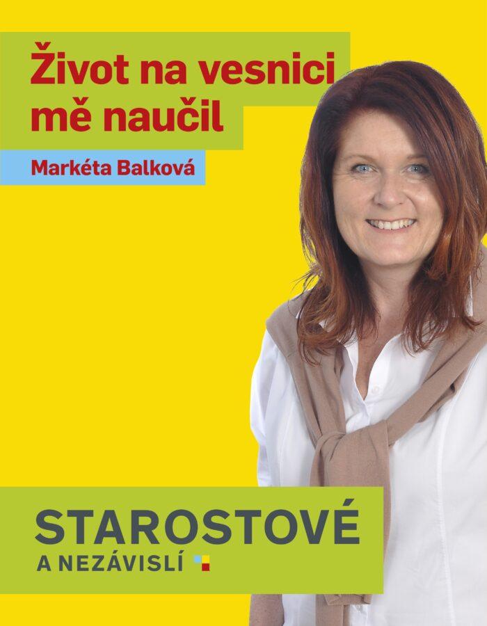 MARKÉTA BALKOVÁ