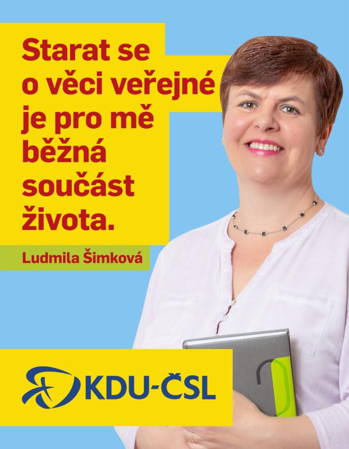 LUDMILA ŠIMKOVÁ
