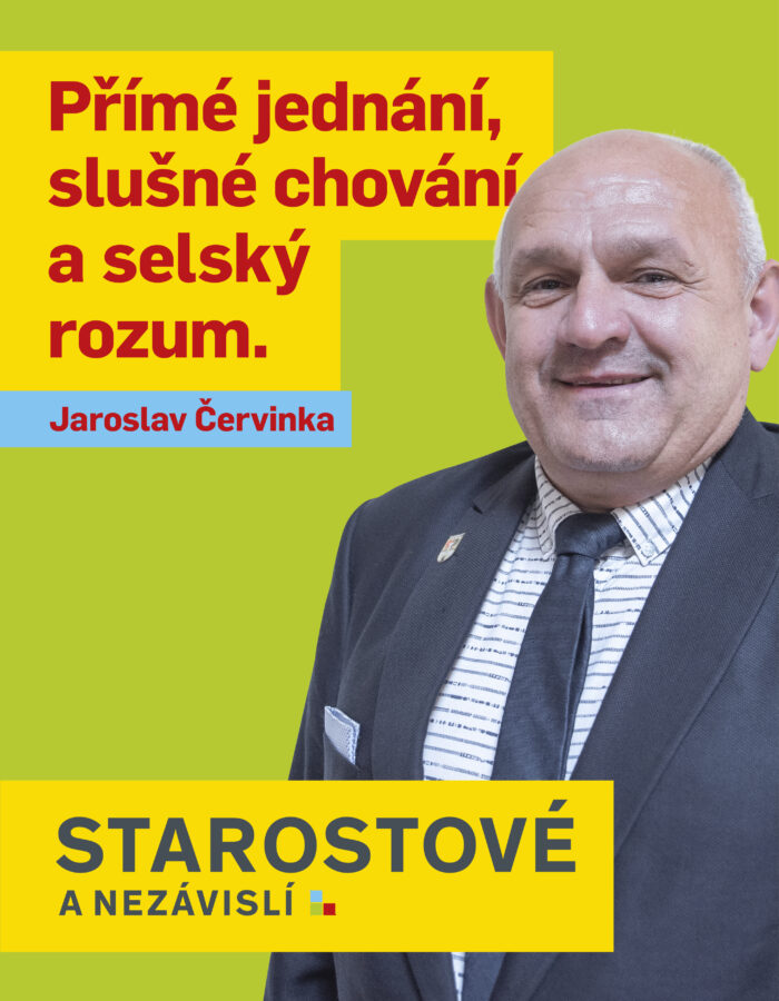 JAROSLAV ČERVINKA
